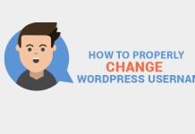 change wordpress username