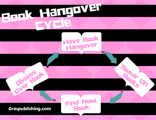 Book hangovers are real and book lovers are always in this endless cycle.