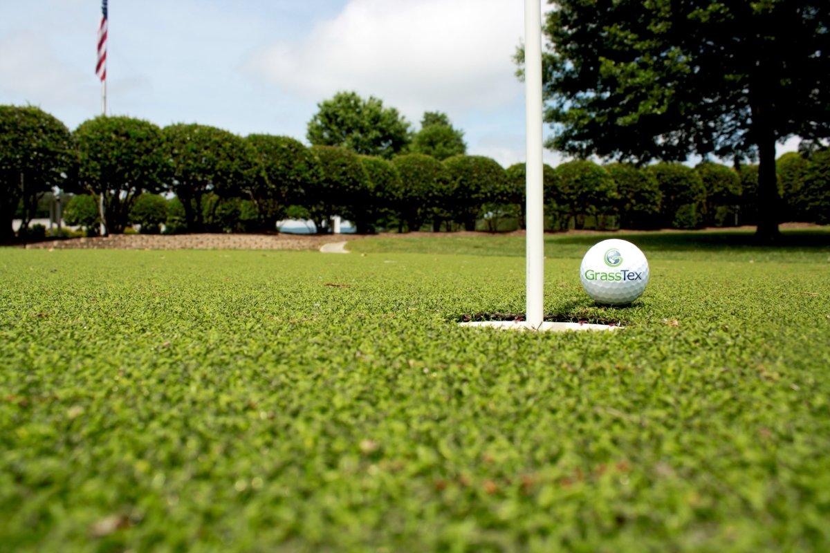 GrassTex Golf & Putting Green Application