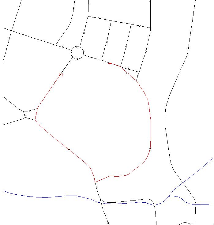 GRASS GIS: Vector network analysis screenshots