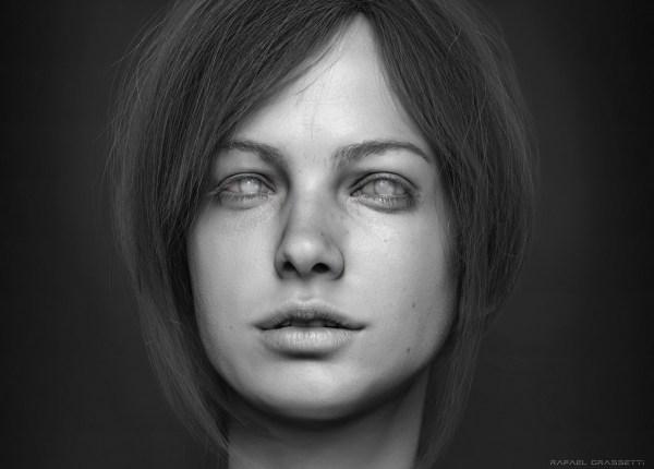 Female Face Portrait