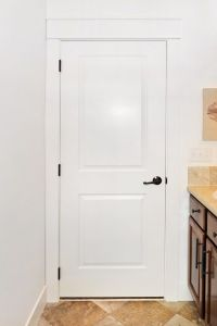 Interior Living room Bathroom HDF Moulded Door