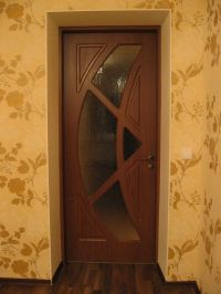 Modern Wooden Glass Door