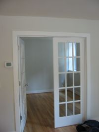 Double Swing French Doors Closet