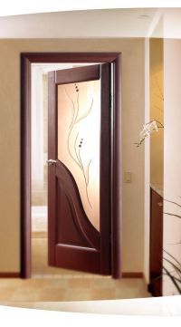 Interior Wooden Door With Glass