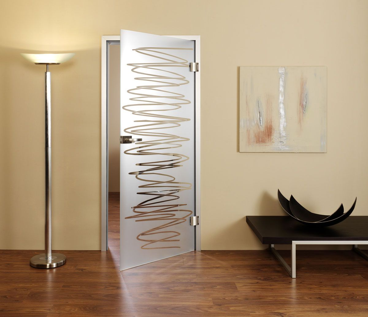 Interior Glass Door For Bathroom And Toilet With Locks
