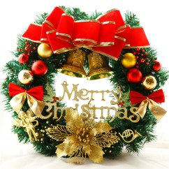 Country Kitchen Door Knobs Cabinets Albuquerque Make A New Year Wreath On With Your Own Hands