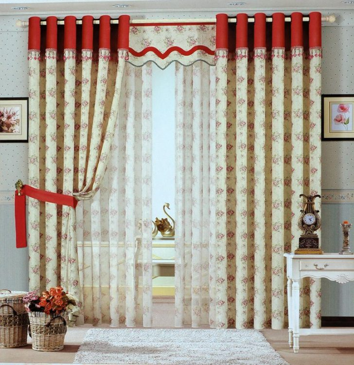 Decorative Curtains in Doorways by your own hands Ideas and Techniques