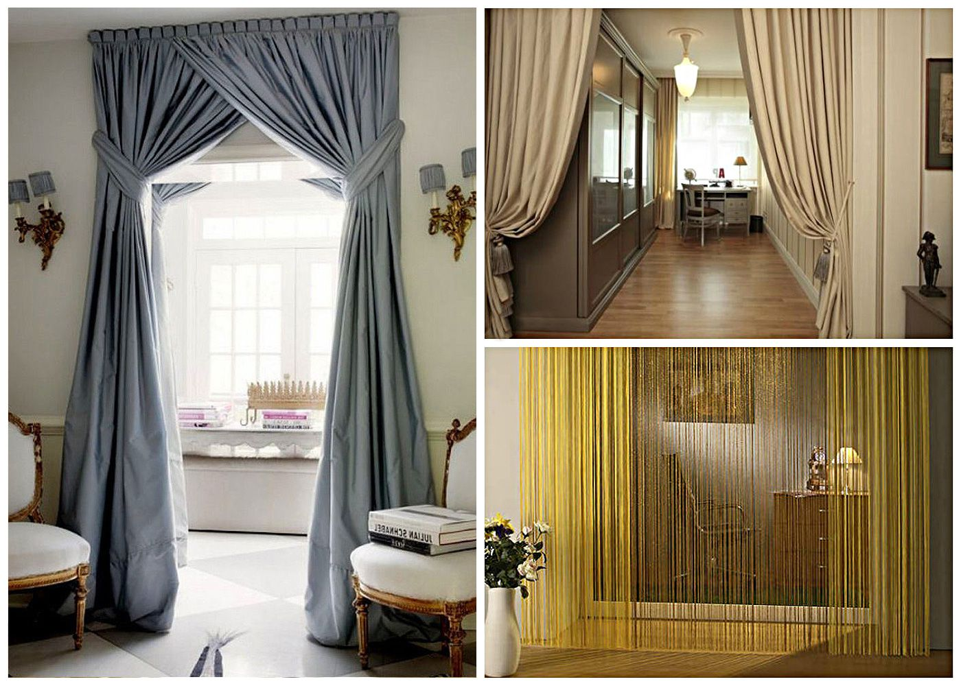 decorative curtains in doorways by your