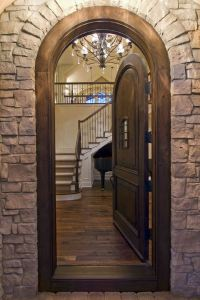 Ornamental Stone Finishing of Arches and Doorways: Design