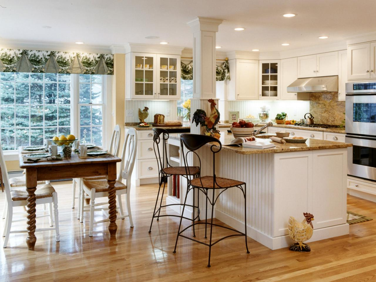 country style kitchen table countertops design images in with