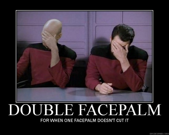 Double face palm - Telling the difference between and hypothesis and an assumption should be this hard