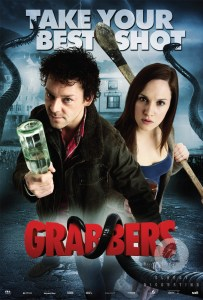 Grabbers movie poster - idiotic / ridiculous / brilliant