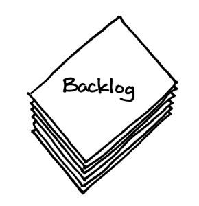 An agile backlog is a list of user stories