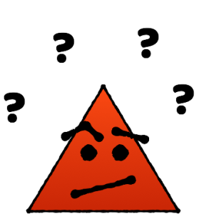 Confused Red Triangle from 1 percent bias