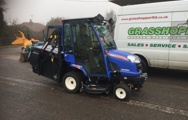 Iseki TXG 323 fitted with heated cab