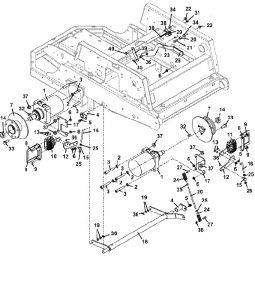 325A Kohler Water Cooled 25 hp Mower