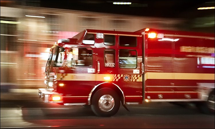 Firefighter struck and killed responding to accident