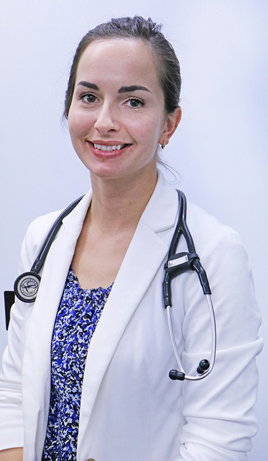 New doctor interned in Melville while in university