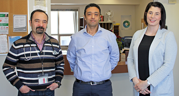 Three new doctors take up their practice in Fort Qu'Appelle