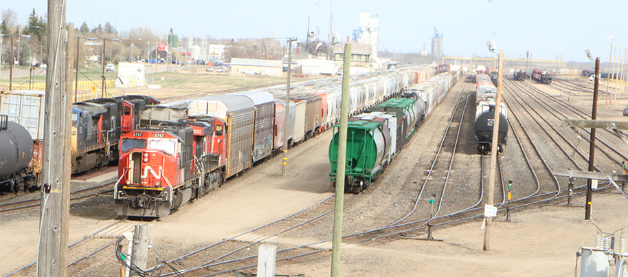 CN upgrading Melville rail yard