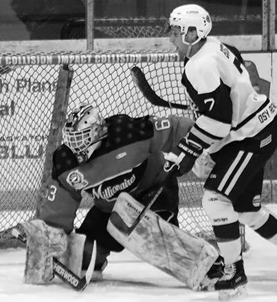Mils goalie Entz commits to Wisconsin college team