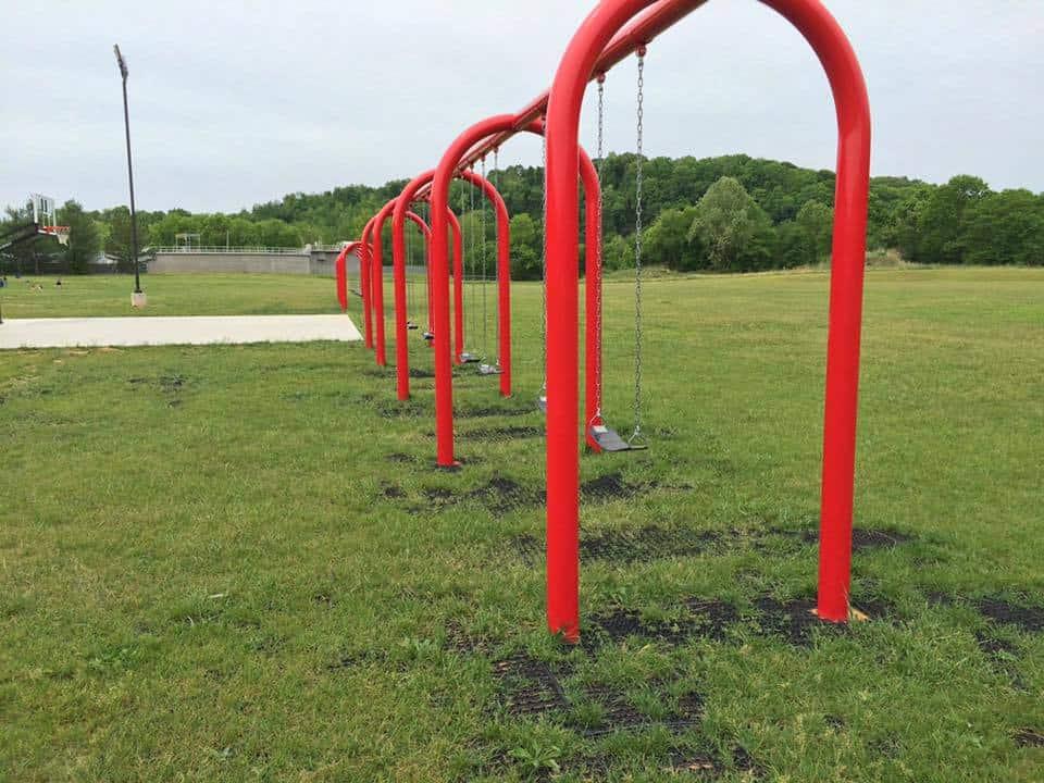 Playground Safety Grass Mats By GrassMats USA