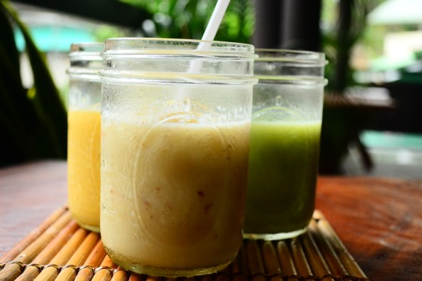 These shakes are made of fresh fruits, instead of artificial flavored powder. You can also have a healthier variation by asking for honey as substitute to sugar.