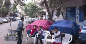 Another Side to Egypt's Protest