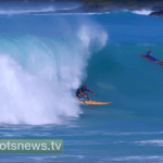 "Kona Surfers Dare ""Super Swell"""