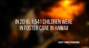 Urgent Need For Foster Families In Hawaii