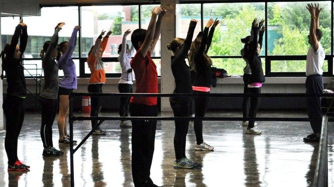G2C Off-Ice Dance Class