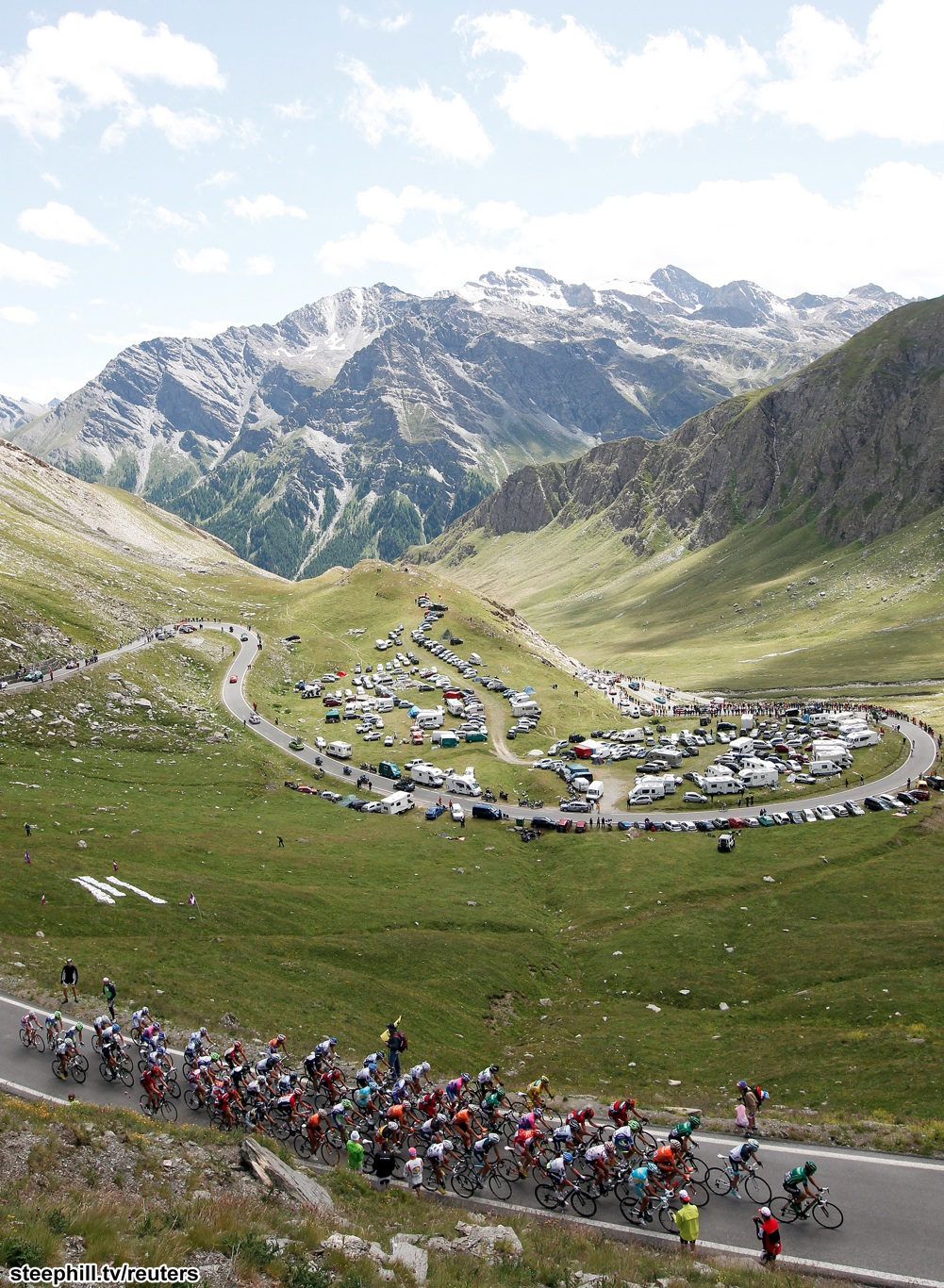 Col Du Galibier Tour De France : galibier, france, Tour-de-france, Photos, Stage-18
