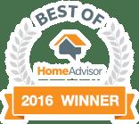 Best of Home Advisor 2016 Recipient