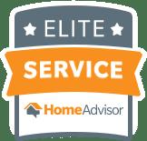 Recipient of the Home Advisor Elite Service Award