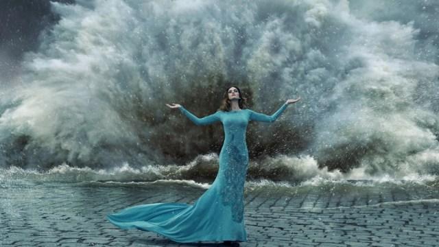 женщина стихия