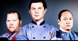 Why the hell is Bobby Flay in front?