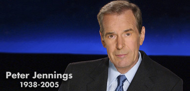 Peter Jennings, 1938-2005