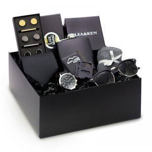 Modern Man Gift Box For Him Black Gifts