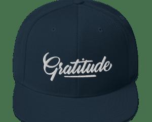 Gratitude Snapback Hat