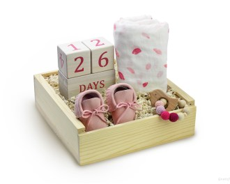 Baby Girl Gift Box Newborn Girl Gift Pregnancy Gift Box