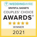 Wedding Wire Grateful Gadgets couples choice winner wedding favors custom gifts