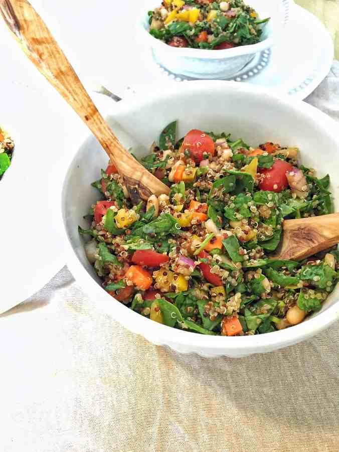 Rainbow Quinoa Salad {+ Phytonutrient Guide}   The Grateful Grazer   www.gratefulgrazer.com