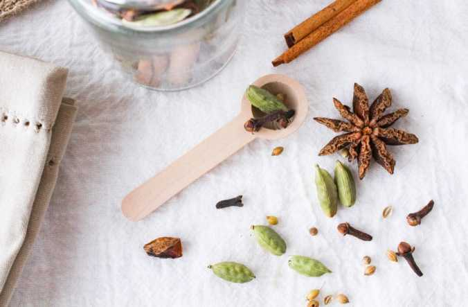 DIY Chai Spice Mix. Use in tea, lattes, oatmeal, baked goods, and more. (gift idea)