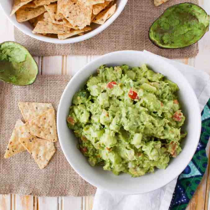 Spicy and crunchy! Habanero Jicama Guacamole