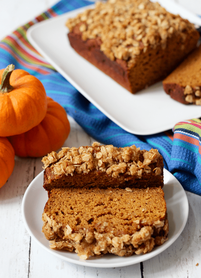 Autumn produce and the best healthy seasonal recipes for fall, including this Whole Wheat Pumpkin Applesauce Bread!