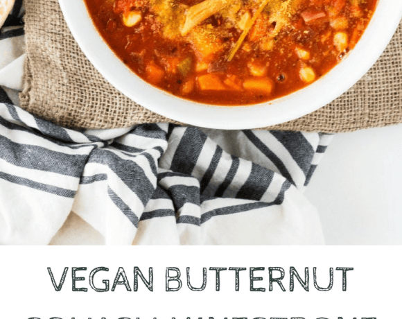 Looking for a hearty and delicious fall stew that also happens to be vegan? This Butternut Squash Minestrone is the definition of fall comfort food!