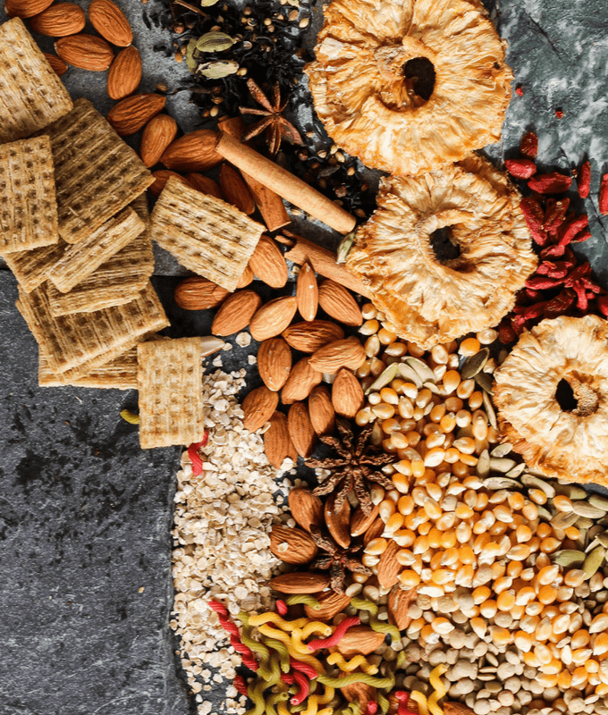 Top 23 tips for stocking a plant-based pantry for wellness and cancer prevention from a vegetarian registered dietitian. Set up your kitchen for success!