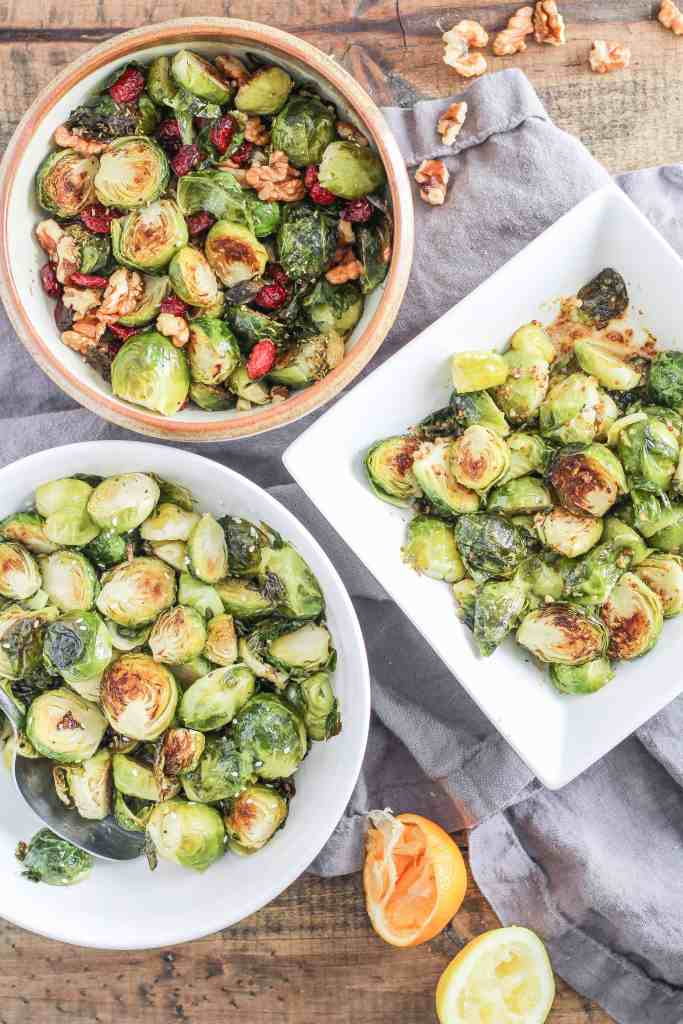 Roasted Brussels sprouts are a healthy addition to your winter table and perfect for the holidays! Watch a quick how-to video and try this delicious vegetable side dish tonight.
