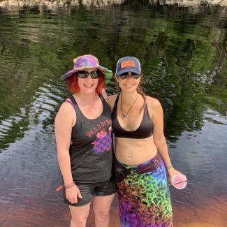 Sara & I Suwannee Rising